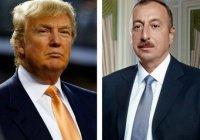 Трамп написал письмо президенту Азербайджана