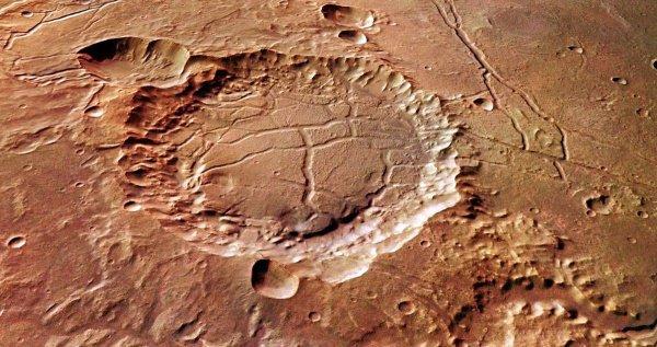 Несколько миллиардов лет тому назад Марс представлял собой почти точную копию нашей планеты
