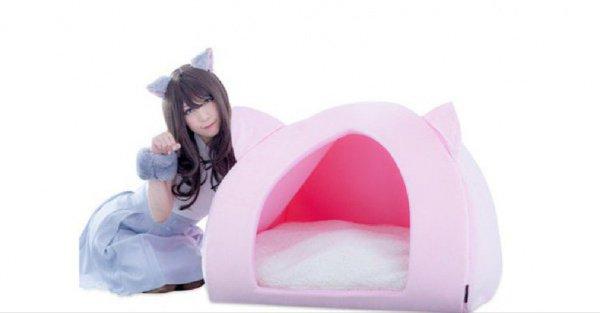 В комплект также входит головной убор в форме кошачьих ушек