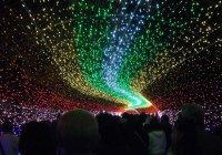 Рекордное световое шоу провели в Китае (ВИДЕО)