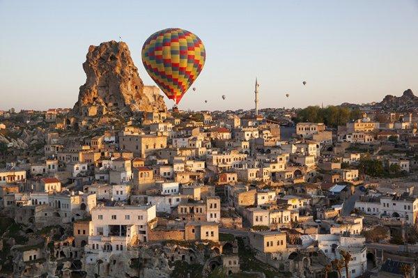 Город Невшехир, Турция