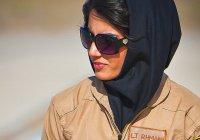 Известная афганская летчица получила убежище в США