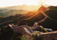 Великую китайскую стену отреставрируют дроны