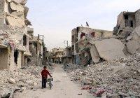 Пятеро детей были ранены при обстреле жилого квартала Алеппо