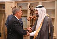 Рустам Минниханов встретился с делегацией Саудовской Аравии