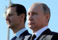 Владимир Путин встретился с Башаром Асадом