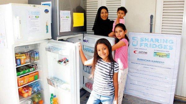 В нынешнем году установлено в общей сложности 88 холодильников с продуктами