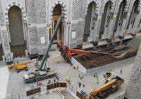 В Заповедной мечети в Мекке рухнул строительный кран