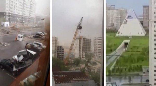 Жителям и гостям Астаны рекомендуется быть бдительными, отслеживать информацию об изменениях погоды