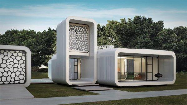 Промышленный 3D-принтер сможет «построить» небольшой дом в срок от 12 до 24 часов