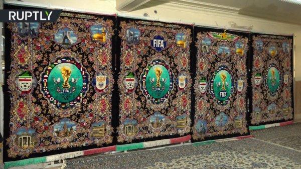 Иран представил символику футбольного ЧМ-2018 с исламским колоритом (Фото)