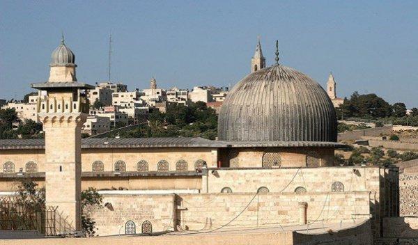 Мечеть аль-Акса, Иерусалим.