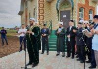 Муфтий РТ принял участие в открытии новой мечети в Кукморе