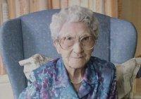 Скончалась самая пожилая жительница Великобритании