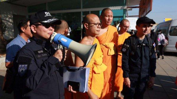 Буддийских монахов ждет тюрьма.