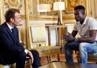 Президент Франции пообещал мигранту, спасшему ребенка, гражданство и работу
