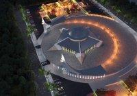 Мечеть в форме полумесяца появится в Турции
