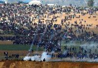 В Палестине назвали число погибших в столкновениях в секторе Газа
