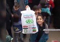 Фонд Кадырова организовал ифтар для жителей Алеппо