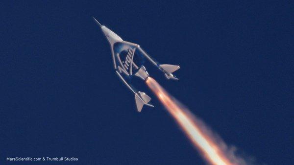 В рамках испытаний аппарат был поднят в воздух на специальном самолете-носителе
