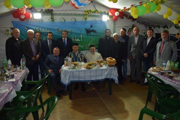 Представители тюркских народов провели совместный ифтар.