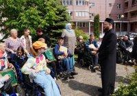 """Муфтий посетил реабилитационный центр для инвалидов """"Восхождение"""""""