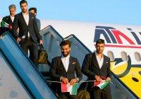 Сборная Ирана первой прилетела в Россию на ЧМ-2018