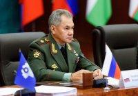 Шойгу призвал страны СНГ принять участие в восстановлении Сирии