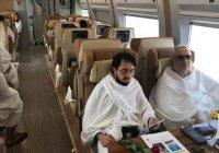 Из Мекки в Медину отправился первый поезд с паломниками