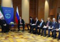 Роухани призвал Россию объединиться с Ираном против США
