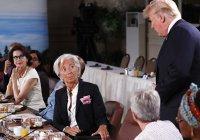Трамп опоздал на завтрак G7, посвященный гендерному равенству