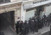 Террорист, угрожавший сжечь заложников, задержан в Париже