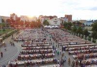 Ифтар в Чечне собрал 20 тысяч человек