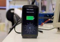 Создана суперскоростная зарядка для смартфона