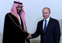 Стали известны темы переговоров Путина и наследного принца Саудовской Аравии