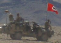 Австралийские военные проехали по Афганистану с нацистским флагом