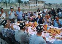 Ифтар объединил жителей конфликтующих сел Киргизии и Таджикистана