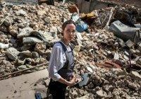 Анджелина Джоли посетила бывшую «столицу» ИГИЛ