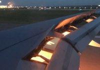 Самолет с саудовской сборной приземлился в Ростове с неисправным двигателем