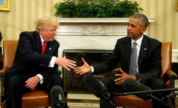 Барак Обама может стать конкурентом Дональда Трампа на выборах в 2020 году.