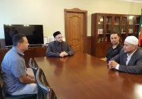 В дни Чемпионата мира по футболу муфтий Татарстана принимает гостей