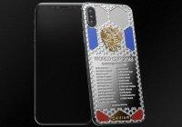 В честь победы сборной России создан новый iPhone
