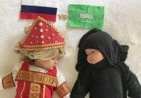 Мама из США одела дочерей в наряды стран-участниц ЧМ-2018 (ФОТО)