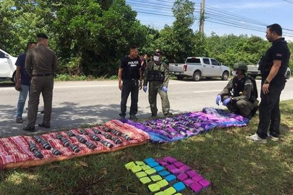 В тайской полиции полагают, что теракты были запланированы на предстоящие выходные