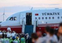Самолет Эрдогана испытал новый аэропорт Стамбула