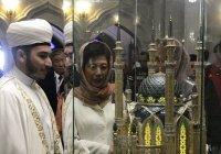 Японская принцесса посетила мечеть Кул Шариф