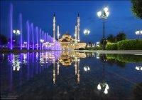 Сборная Египта совершила джума-намаз в «Сердце Чечни»