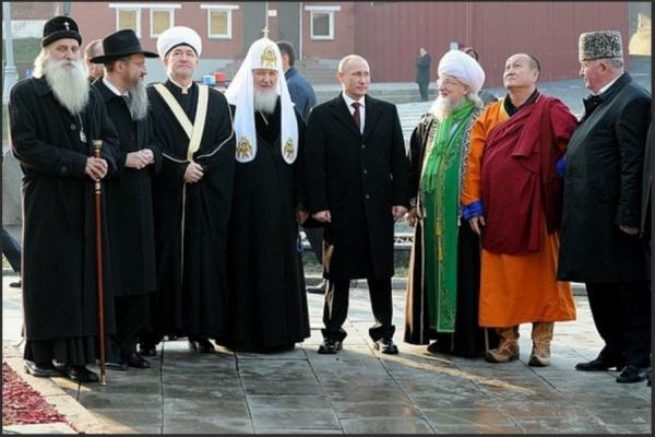 Россия - пример межрелигиозного мира и согласия.