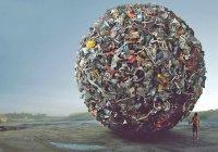 На каждого жители России приходится больше 200 тонн мусора