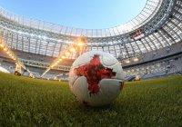 Путин на Красной площади сыграл в футбол (ВИДЕО)